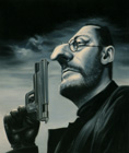 Jean Reno ( Colored pencil on paper 30 x 40 cm - year: 2001 )