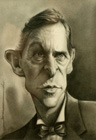 Jeremy Brett ( pencil on paper 17.5 x 25.5 cm - year: 2002 )