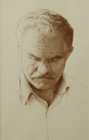 Portrait (painter's father) ( pencil on paper 30 x 50 cm - year: 1998 )